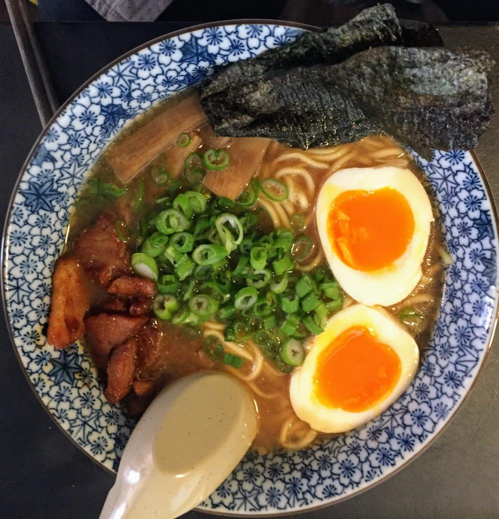 New Roah Miso ramen in new bowl